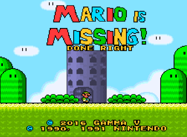 Mario is Missing! Done Right
